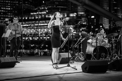 Juliet Pang Quartet @ Esplanade Outdoor Theatre